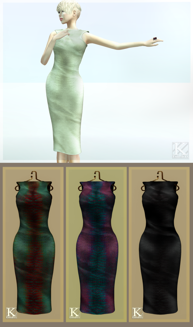 (Kunglers) Ariana dress AD 2