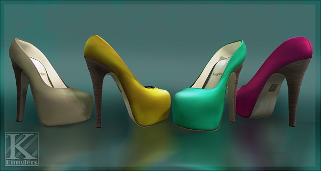 (Kunglers) Celine pumps - colors AD